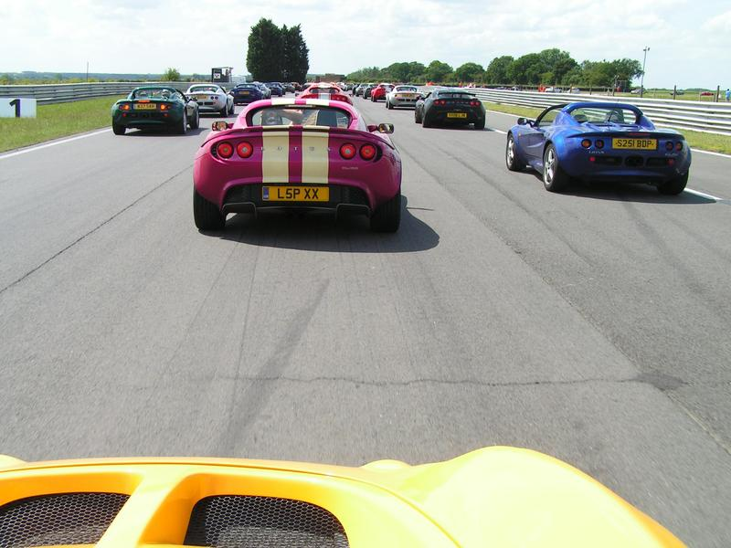 Image: 436 Lotii at Snetterton - UK